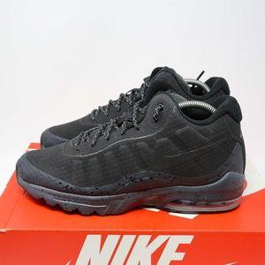 Nike Air Max Invigor Mid Black Running Shoes sz 8 NWT